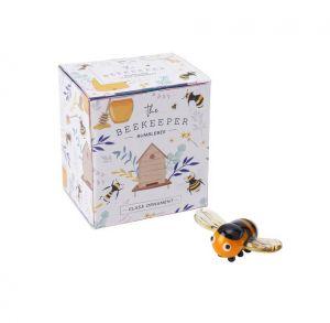 dinky glass bumblebee beekeeper trinket