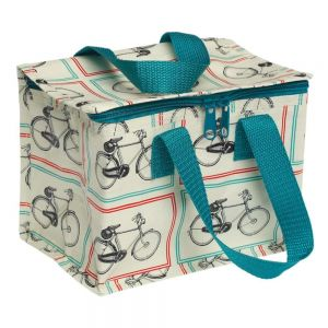 Vintage bicycles lunch bag cycling images