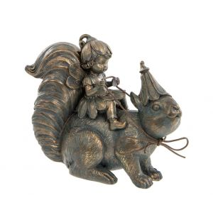 bronze-flower-fairy-sitting-on-squirrel-ornament