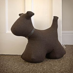 brown-felt-furry-dog-doorstop