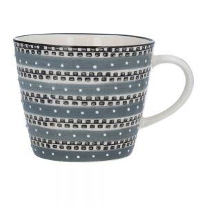 Grey Tracks Mug by Gisela Graham