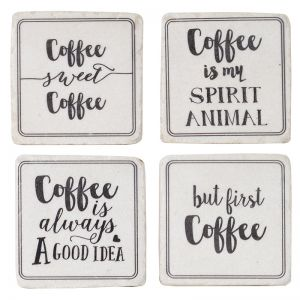 Coffee Meme Coaster Set of 4