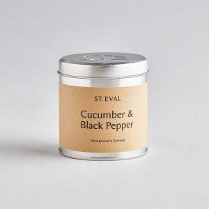 Cucumber & Black Pepper St Eval Tin