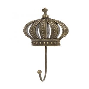 Gold Cushion Crown Wall Hook