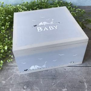 East of India Baby keepsake Box