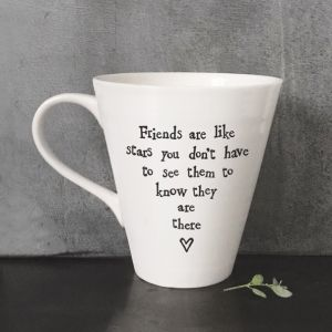 East Of India 'Friends are like stars' Mug