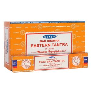 Eastern Tantra incense sticks by Satya online shop PurpleSunrise in Southend. Stockist of Satya incense home and gift