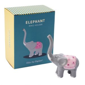ellie elephant jewellery ring holder