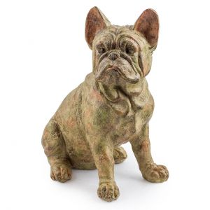 french bulldog tl87 sitting statue
