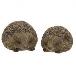 Set of 2 Hedgehog Ornaments