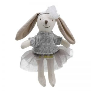 Girl Rabbit Soft Toy by Wilberry Collectables