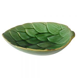 Green Artichoke Leaf Dish