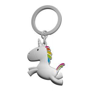 Jumping Unicorn Keyring
