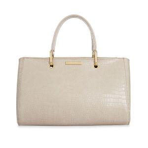 klb898 handbag loxton faux croc
