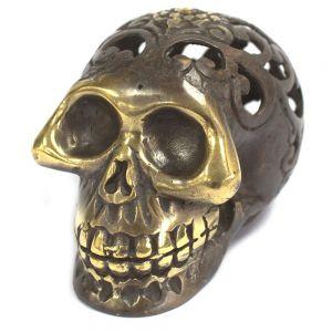 bronze_metal_human_skull