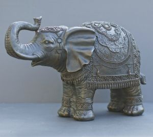 large brown elephant ornament