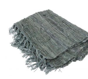 suede-leather-rag-floor-rug-grey-colour