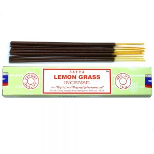 Lemon grass Satya incense stick box at PurpleSunrise.com incense shop Southend