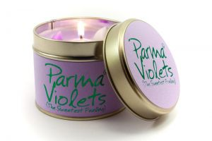 Parma Violets Candle by Lily Flame