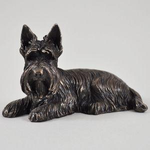Scottie Dog Ornament Cold Cast Bronze