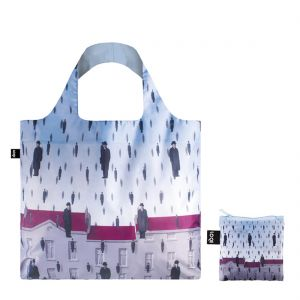LOQI Margritte 'Golconda' Shopping Bag
