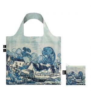 LOQI Van Gogh Old Vineyard Tote Bag