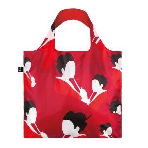 LOQI-red-geisha-reusable-bag
