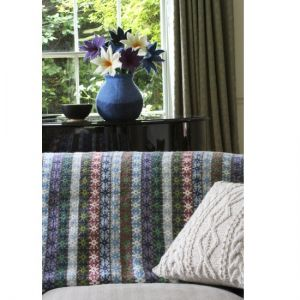 Pachamama Tintagel Lined Wool Throw - Cool