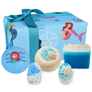 Part Time Mermaid Bomb Cosmetics Gift Pack