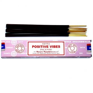 positive vibes satya incense sticks