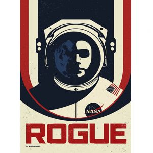 Rogue NASA art print by Justin van Genderen posters online at PurpleSunrise Southend