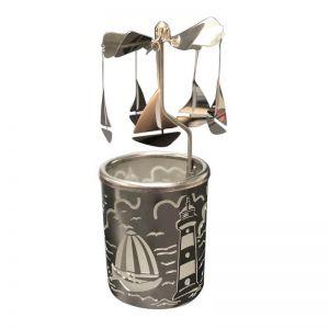 Sailing Boat Tealight Spinner Carousel