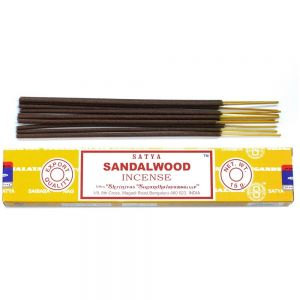 Satya sandalwood incense UK stockist from Sai Baba Under the Sun Southend