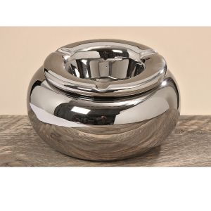 Silver Outdoor Ashtray