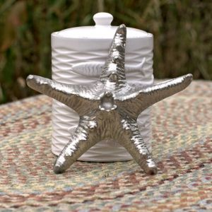 aluminium starfish ornament