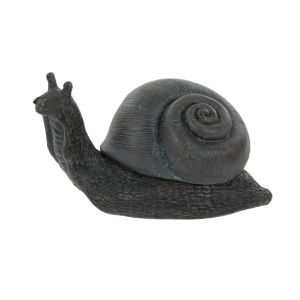 Large Verdigris Snail Key Holder