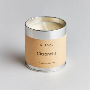 St Eval Scented Tin- Citronella