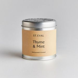 St Eval Scented Tin - Thyme & Mint