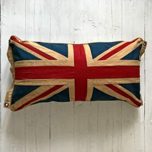 union jack pillow cushion cotton