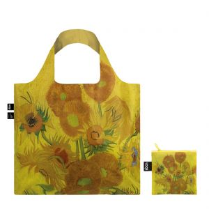LOQI Van Gogh Sunflowers Shopping Bag