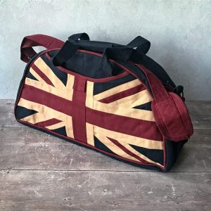 Union Jack Overnight Holdall Bag