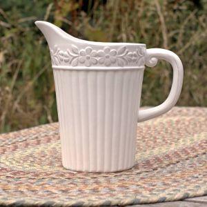 gisela graham flower pitcher jug