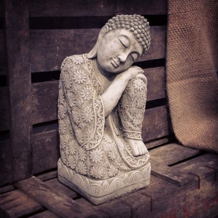 sleeping buddha statue available at Purple Sunrise