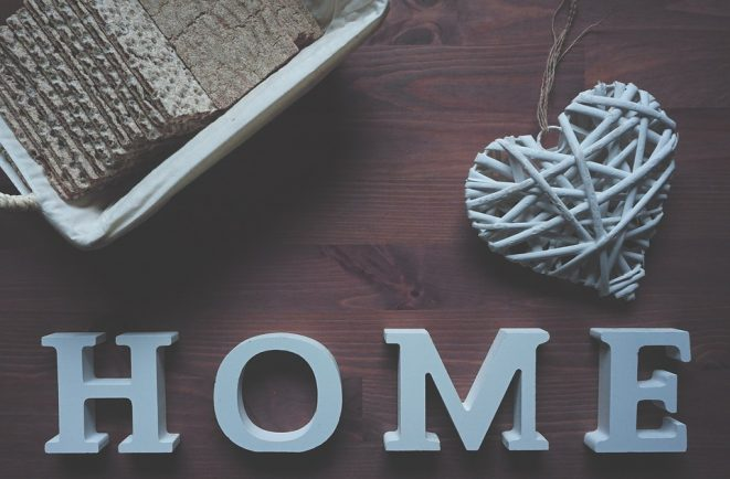 home decoration image with decorative photo frames