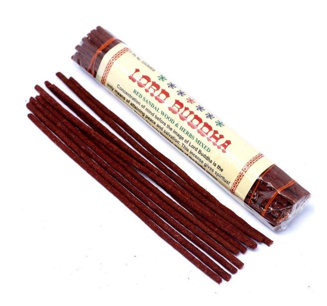 Lord Buddha red sandalwood incense