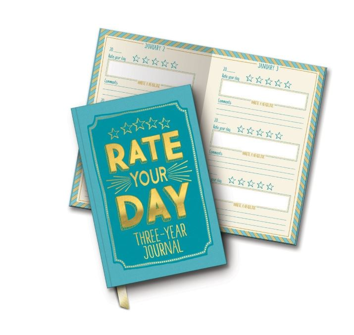 Rate your day guided journal