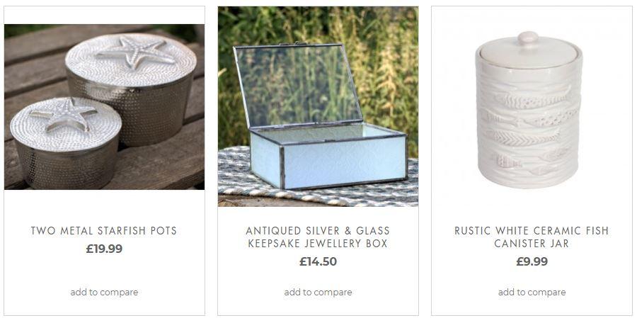 Quirky & Decorative Small Storage