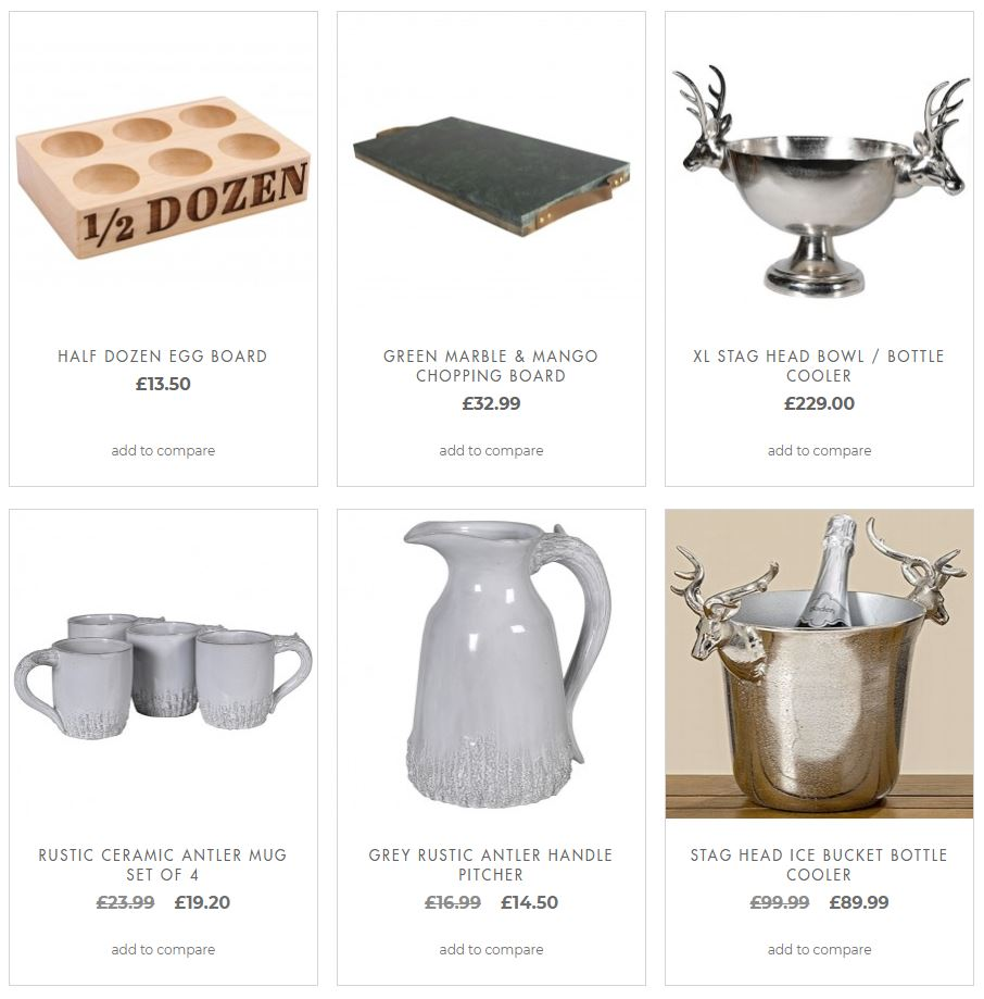 Decorative Serve & Tableware