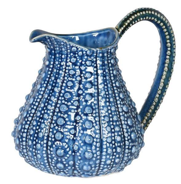 Urchin effect blue jug