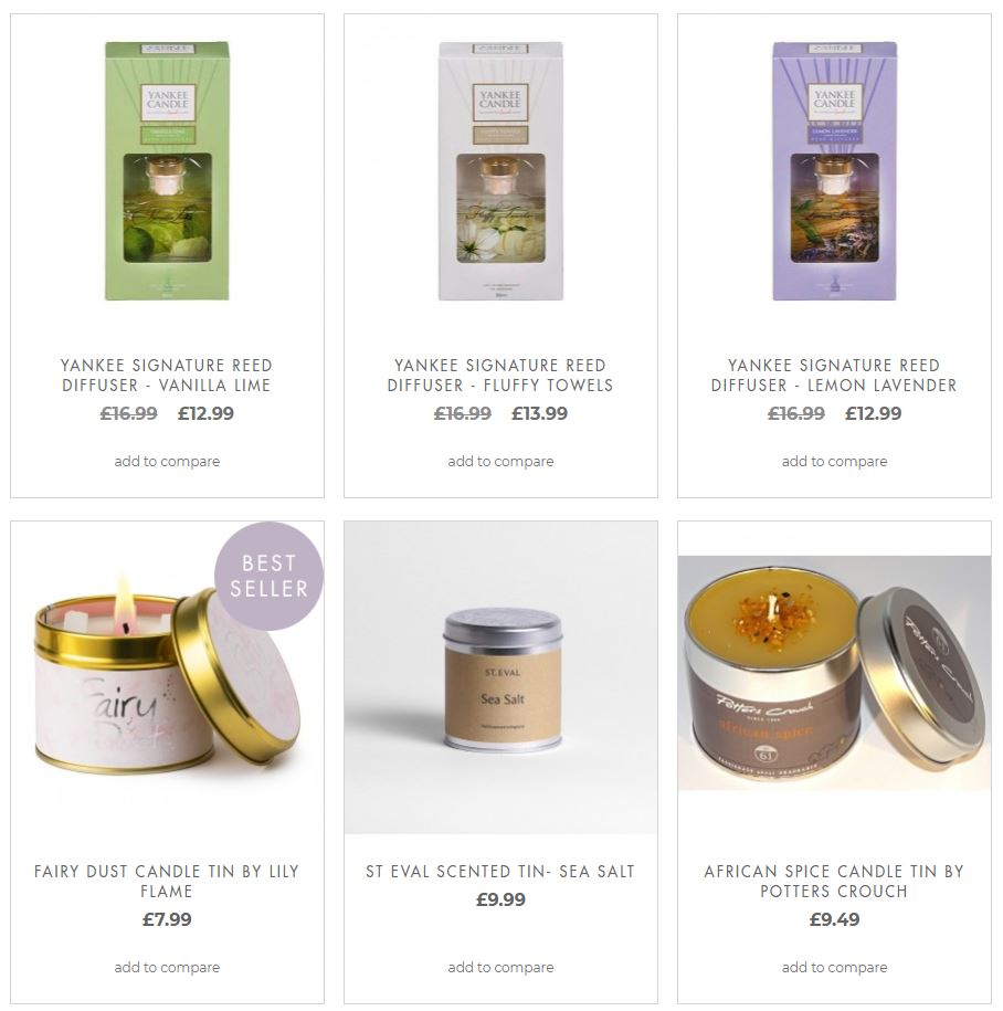 Home Fragrance Gifts